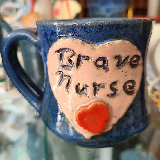 Brave Nurse Mug