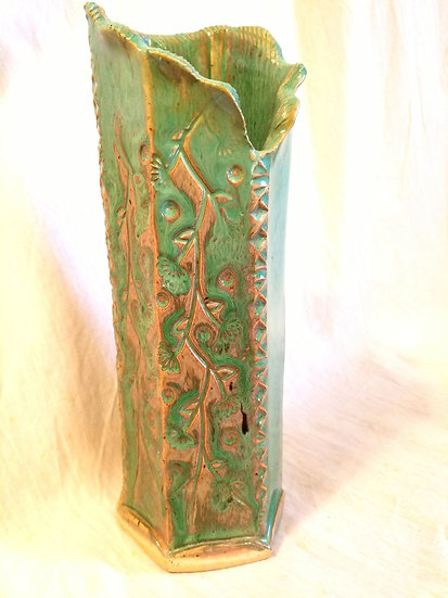 MPeddicord Green Vase