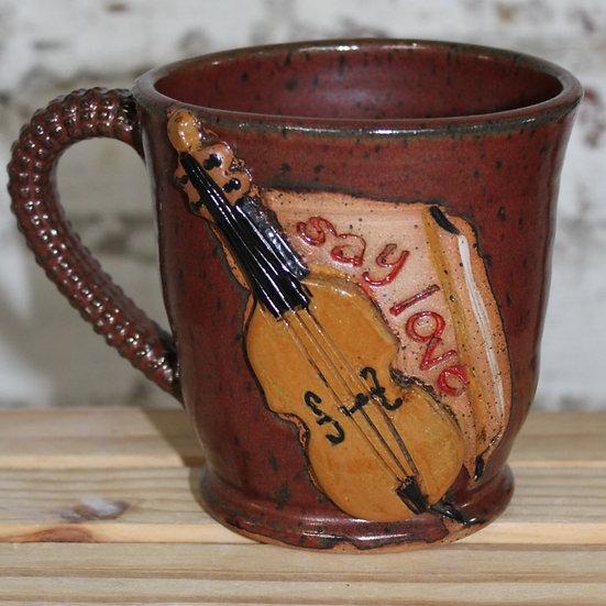 Cello Say Love Mug