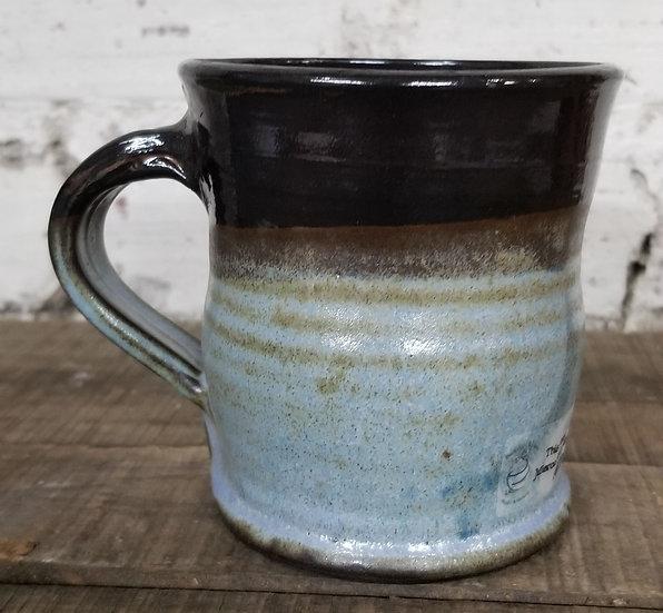 PBowers Blue & Brown Mug