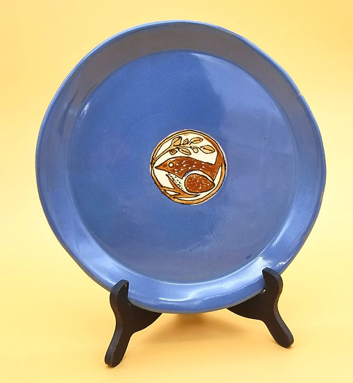 P Bowers Carolina Wren Plate