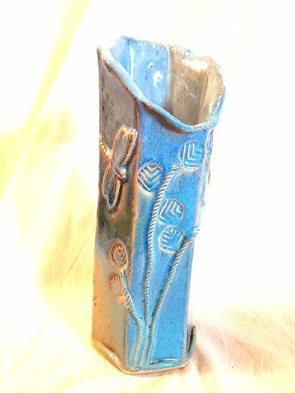"""MPeddicord Hex Dragonfly Vase 10"""""""