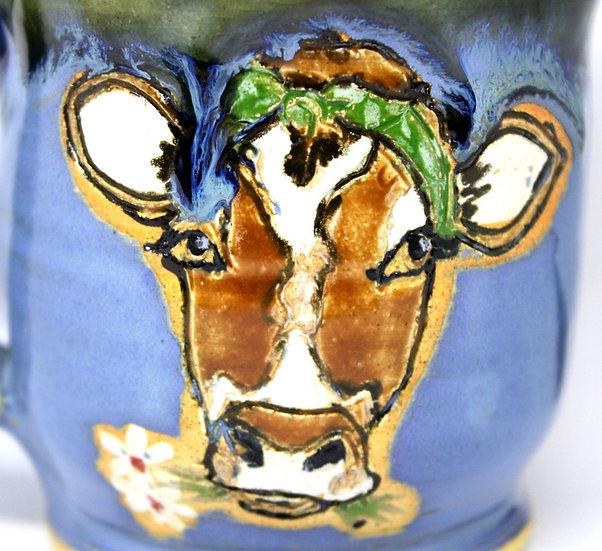 """Feeling A-Moooosed"" Cow Mug"