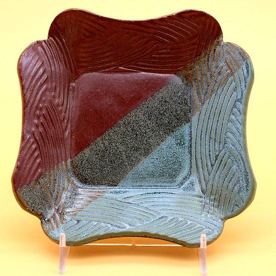 M Peddicord Square Plate