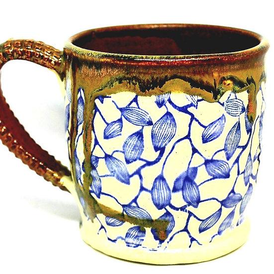 Blue Pod Mugs