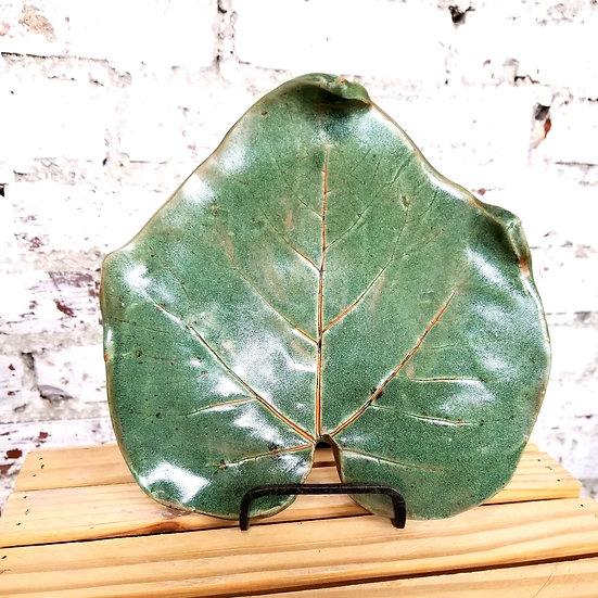 C O'Neal Leaf Platter