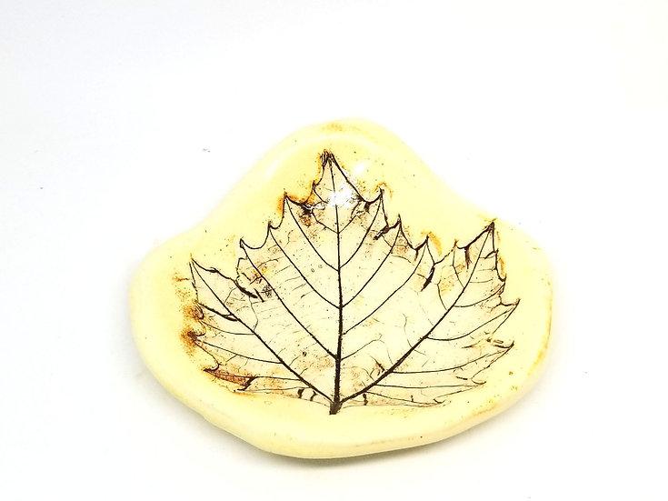Small Leaf Teaspoon Rest