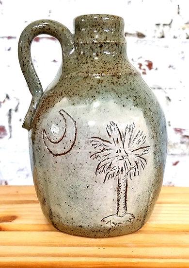 PK Pottery Palmetto Jug