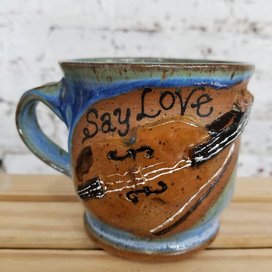 Say Love Fiddle Mug