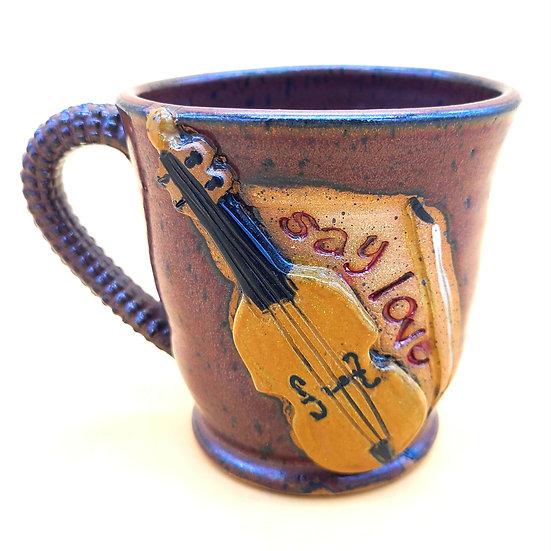 """""""Joe"""" Cello Mug"""