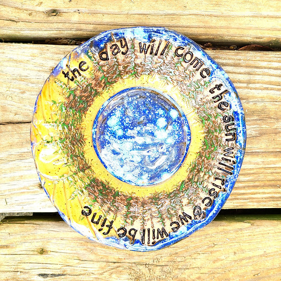 """""""We will All Be Fine"""" Small Plate"""
