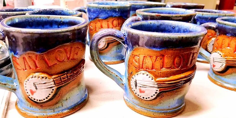 Saturday Crafternoon - Deja-Brew! Make a set of Heart Warming Mugs