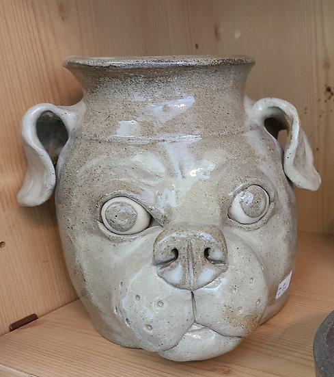 PK Pottery Dog Jug