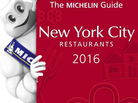 One star - 2016 New York Guide Michelin