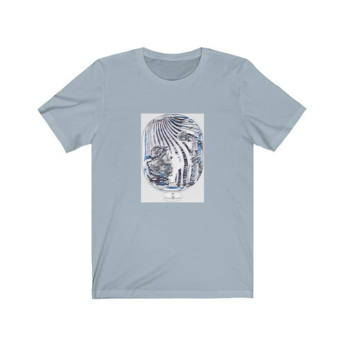 BOHO chic Psychedelic Hippie Art Cotton Tee Shirt XS-3XL Between Heaven and Hell