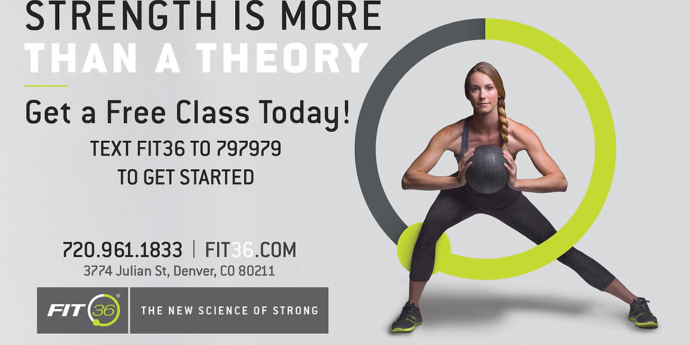 FREE HIIT in the Park with FIT36