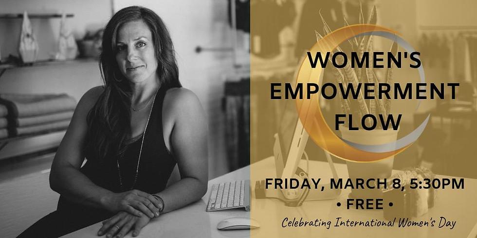 Women's Empowerment Flow: International Women's Day