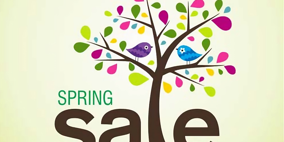 Spring Saturday Sale on the Sixth!