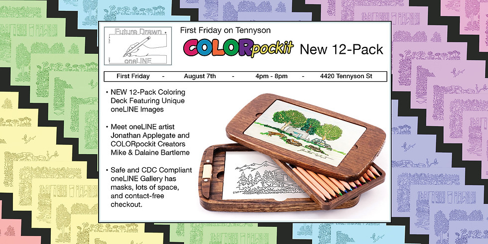 First Friday- COLORpockit Art Deck Release