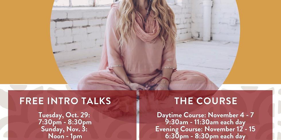 Learn Vedic Meditation Intro Talks
