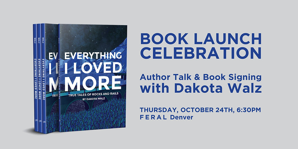 Everything I Loved More | Author Talk and Book Signing