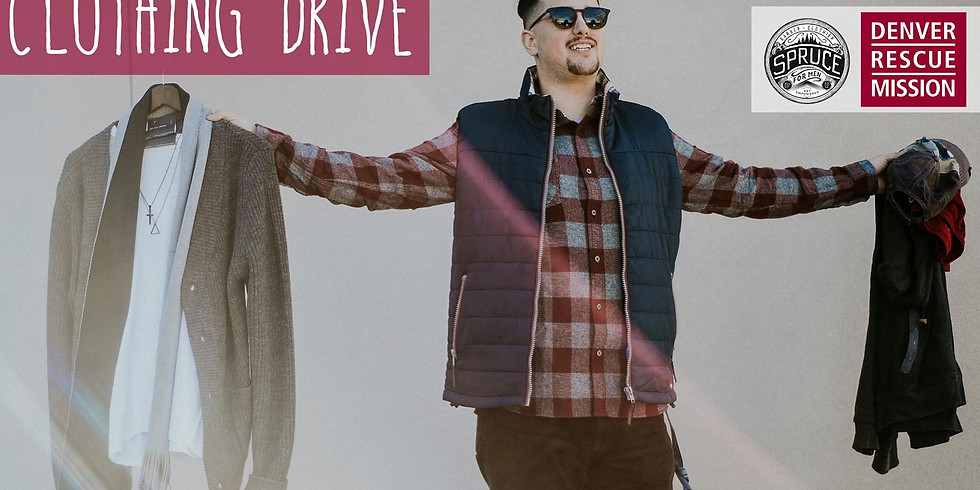 4th Annual Denver Rescue Mission Clothing Drive