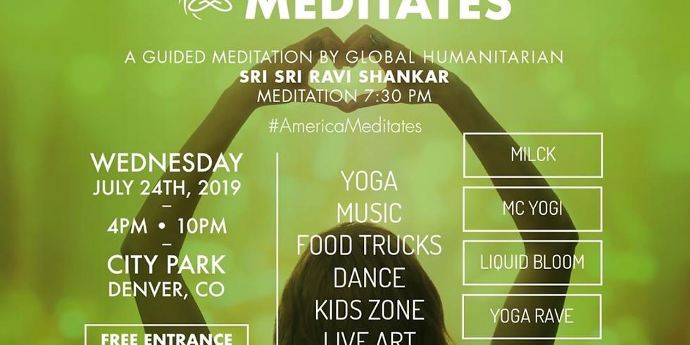 America Meditates