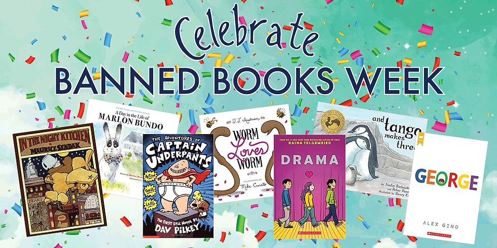 Celebrate Banned Books Week!