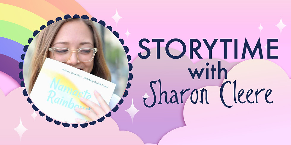 Storytime with Sharon Cleere featuring Budda Babies