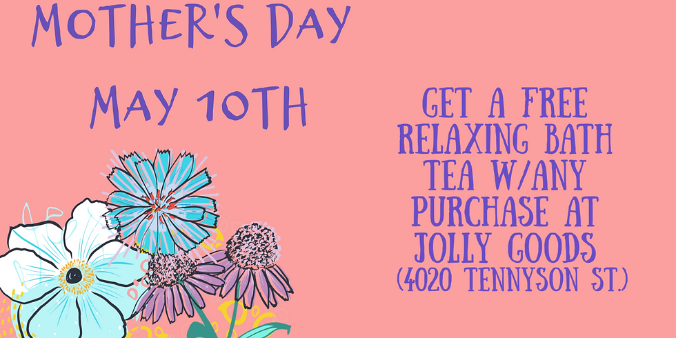 Mother's Day Bath Tea Giveaway