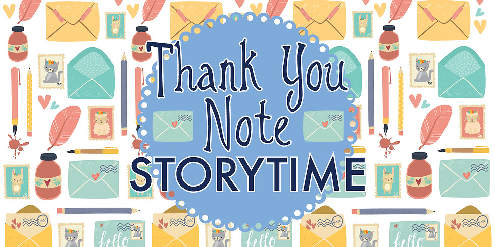 Thank You Note Storytime