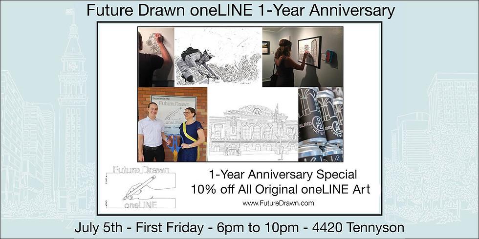 oneLINE Gallery 1-Year Anniversary