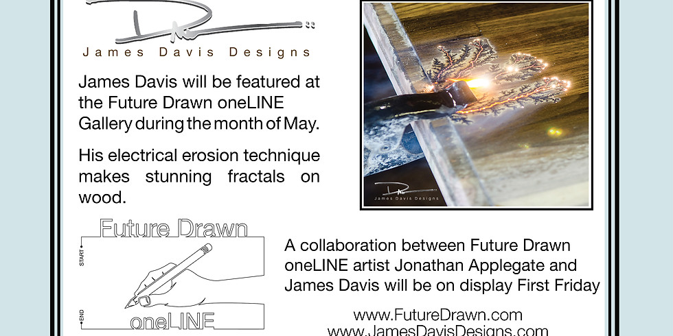 First Friday - Future Drawn oneLINE Gallery