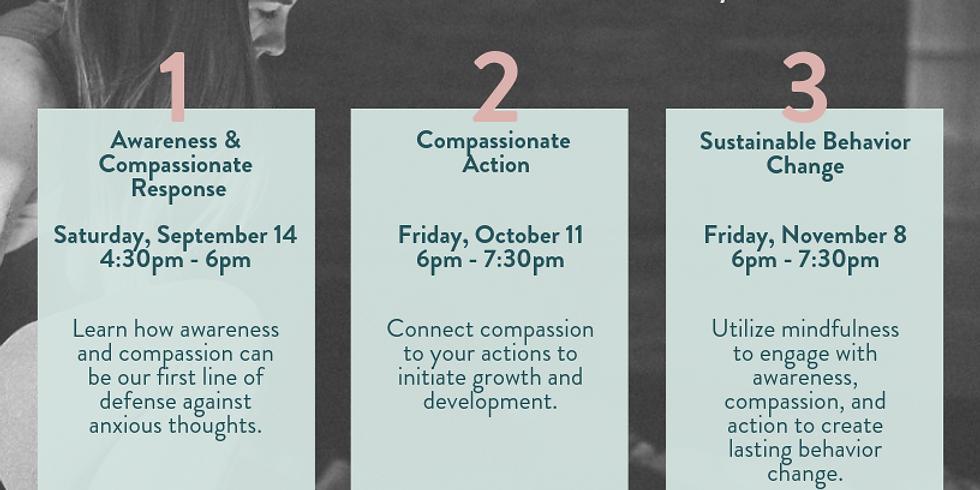 Destress + Meditate 3 Part Workshop Series w/ Amy Morrison