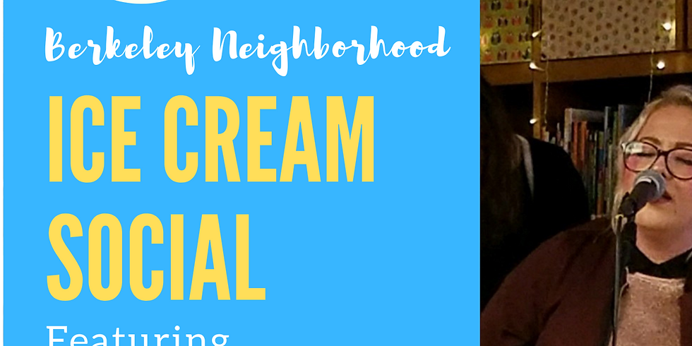 Berkeley Neighborhood Ice Cream Social with the Milk Blossoms