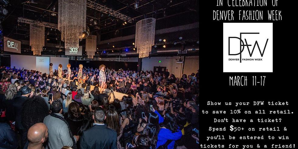 Pre-Denver Fashion Week Ticket Giveaway & Discount