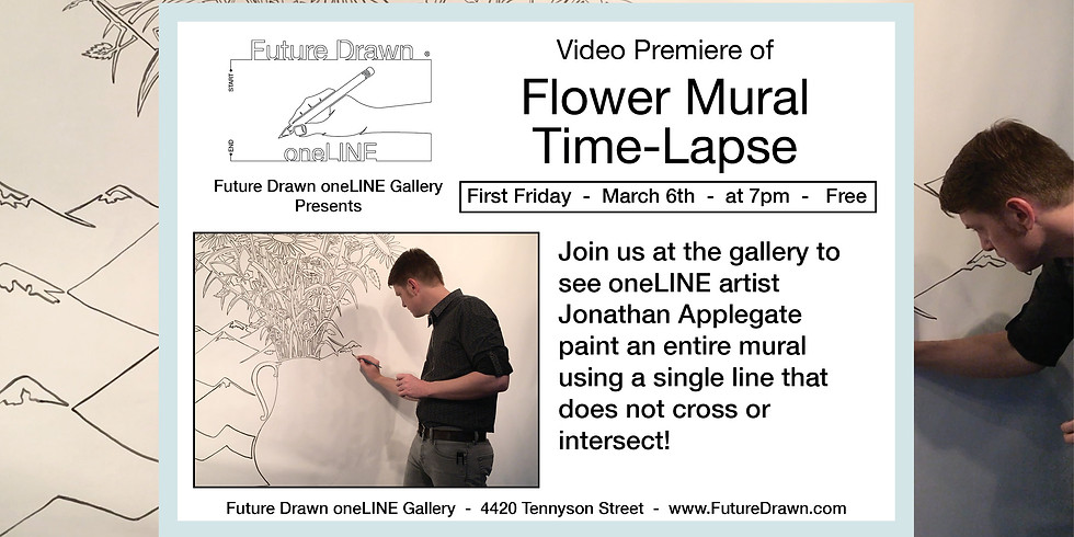 Flower Mural Time-Lapse Premiere