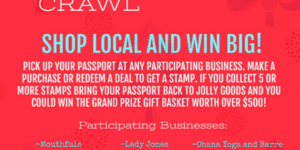 5th Annual Tennyson Small Business Holiday Passport Crawl