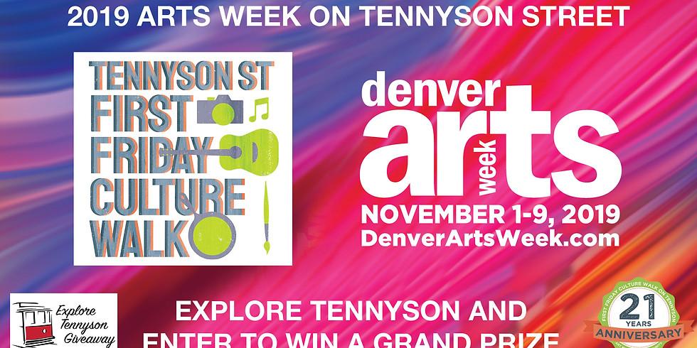 Denver Arts Week - Explore Tennyson Giveaway
