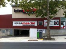 Signalétique Intermarché