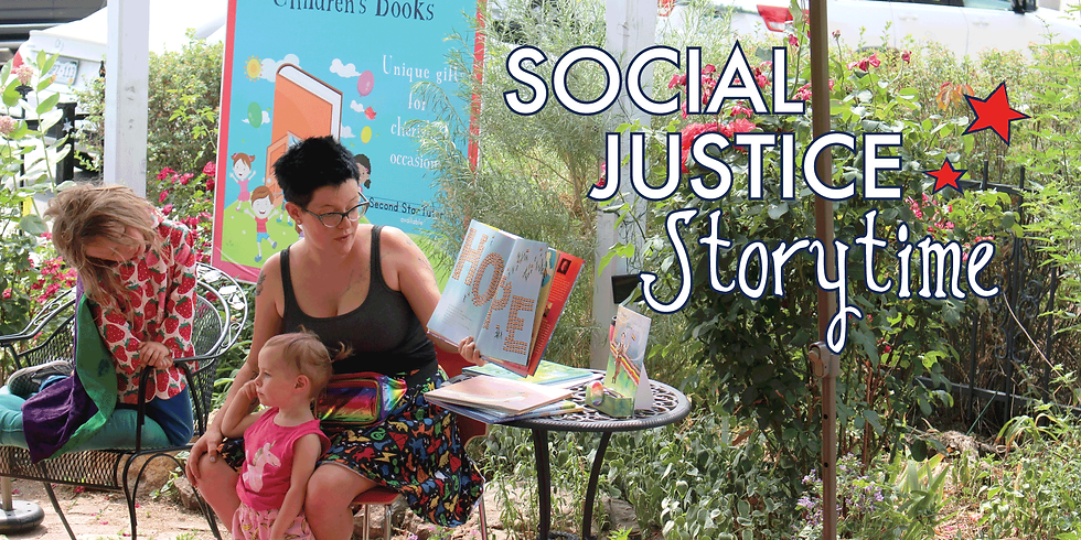 Social Justice Storytime - A Preschooler's History of the United States
