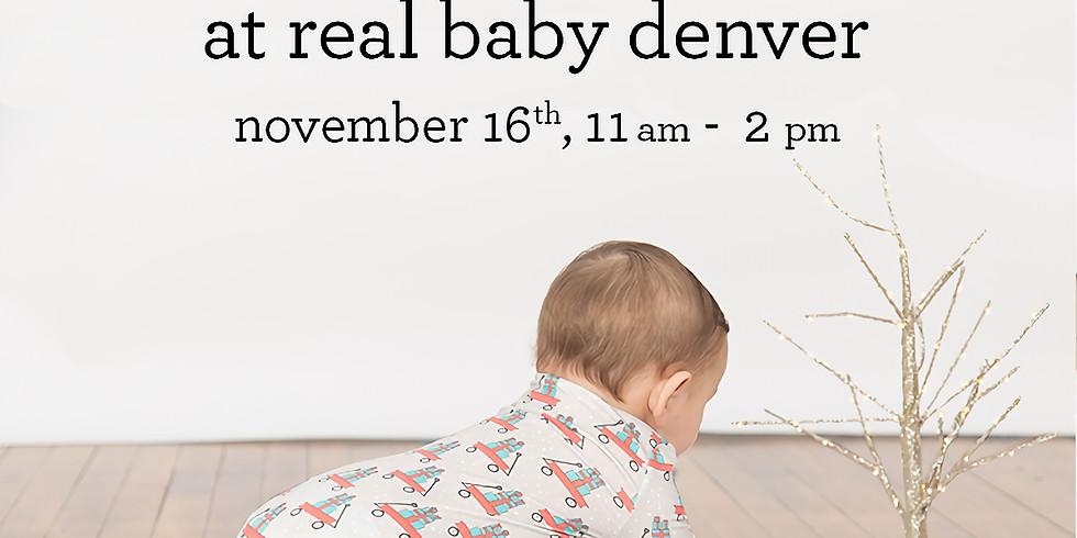 Real Baby and Magnetic Me Holiday Party!