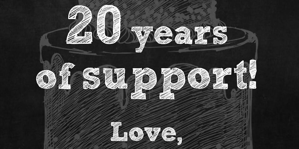 Parisi celebrates 20 YEARS!