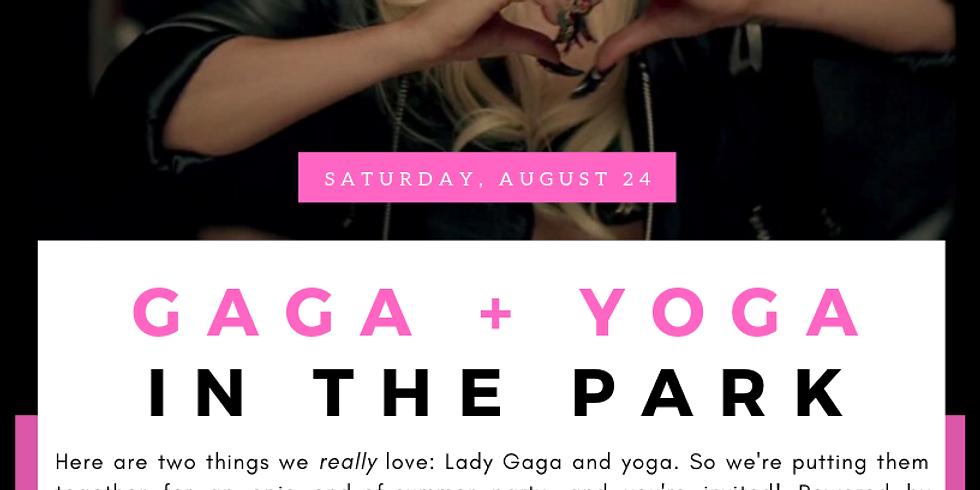 Gaga + Yoga in the Park