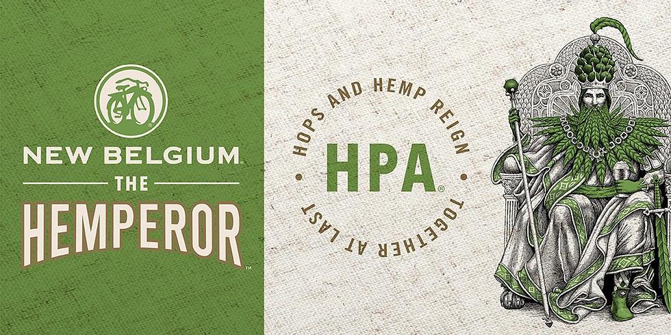 "New Belgium's ""The Hemperor"" Hemp Pale Ale, Launch Party on 4/20"