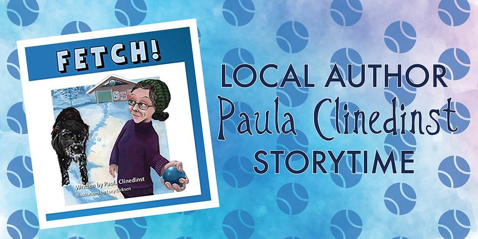 Local Author Paula Clinedinst Storytime