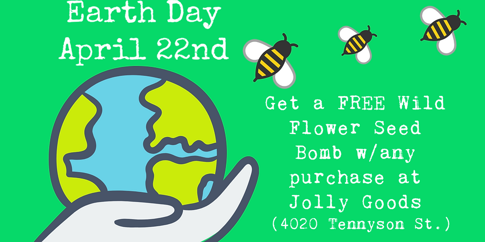 Earth Day Seed Bomb Giveaway!