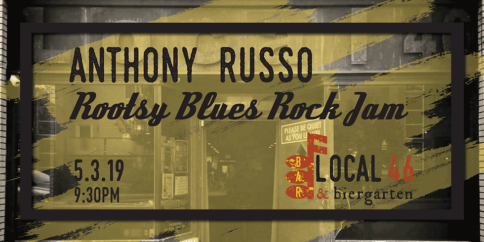 Live Music with Anthony Russo at Local 46
