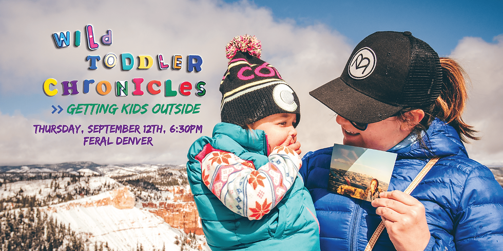 Wild Toddler Chronicles: Getting Kids Outside w/ Brian Lewis
