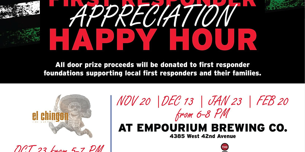 First Responder Happy Hour